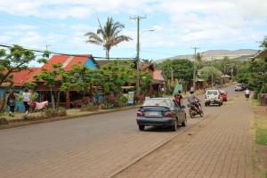 Hanga Roa, île de Pâques