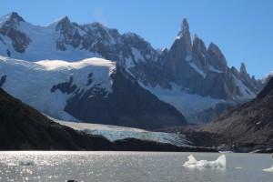 El Chalten, lago de los torres