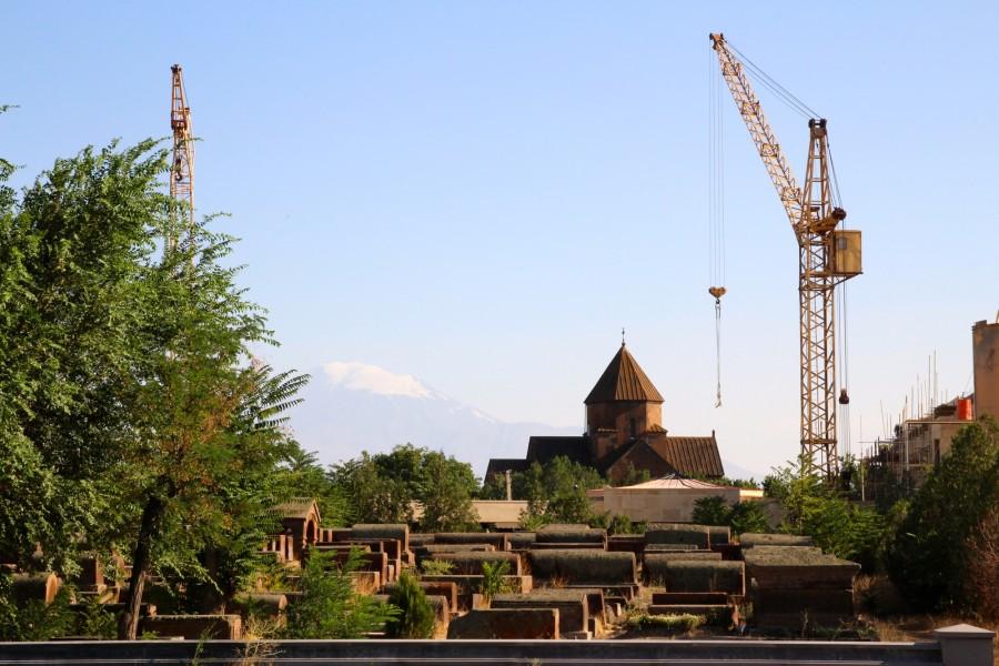 Armenie, Echmiadzin, sainte Gayamé