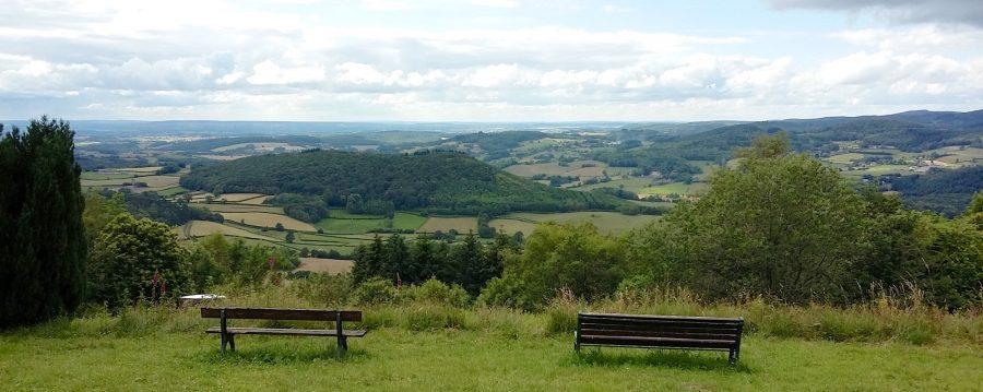Morvan, vue panoramique depuis la chapelle du banquet