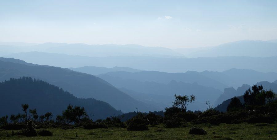 de Repkong à Labrang, vue depuis Yarma Tashikyil