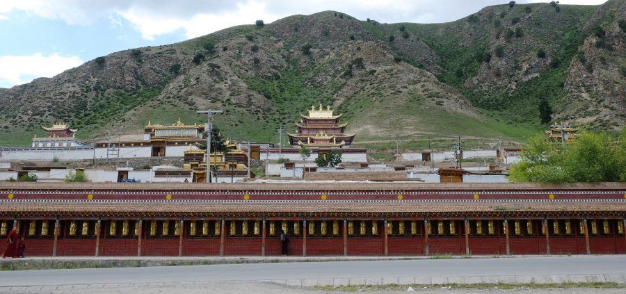 de Repkong à Labrang, Gartse Gompa