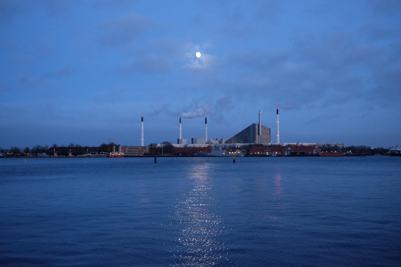 Copenhague, clair de lune