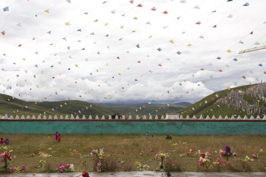 Kham, Tagong, fête des fleurs